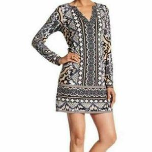 Hale Bob Anita Jersey Dress Small